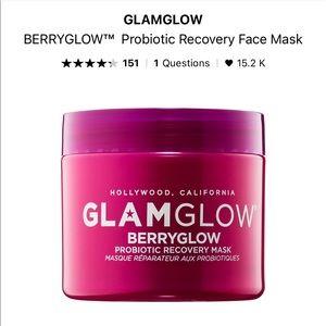 NWT glam glow berry mask